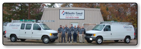 Atlantic Coast Heating and Cooling - Serving All of Hampton Roads