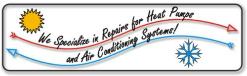 We Specialize in Repair of Heat Pumps and Air Conditioning Systems